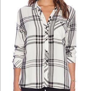 Rails Hunter Plaid Button Down Shirt XS